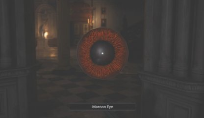 Maroon Eye