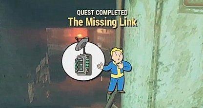 Fallout 76, The Mission Link - Quest Walkthrough