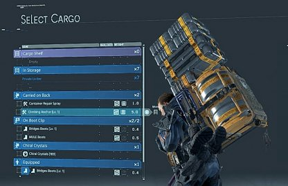 Make Sure Cargo Is Balanced & Secure