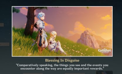 Ending 1: Blessing In Disguise