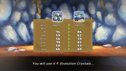 Evolution Crystals