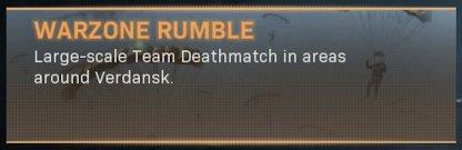 Warzone Rumble