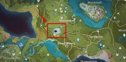 Lupus Breas Location Image