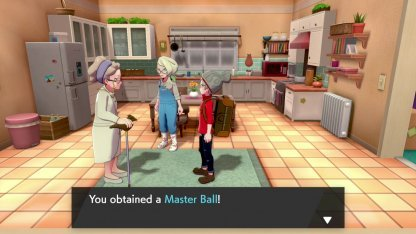 Always One Master Ball In Game