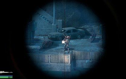 Down Machine Gunner With 2 Head Shots