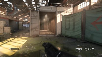 Shipment Containers Are At the Sides