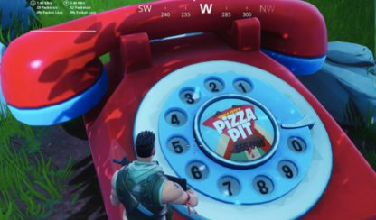 Dial The Pizza Pit Number On The Big Telephone (Week 8)