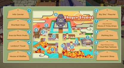 Shogun Studios Map
