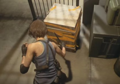 Break Yellow-Taped Boxes For Loot