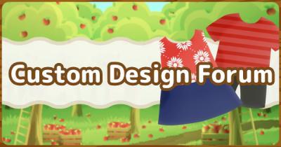 Animal Crossing Custom Design Forum Acnh Gamewith