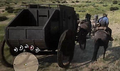 Red Dead Redemption 2 Rob A Stagecoach With Bill