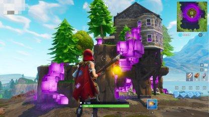 Fortnite Cube House