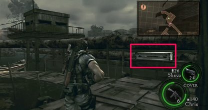 M3 Shotgun Is Available In Locked Gate Area