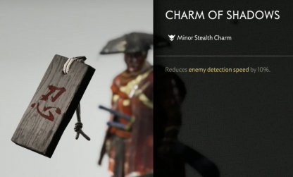 Receive Charm Of Shadows