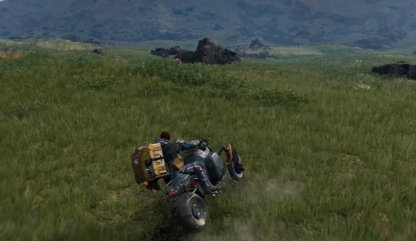There Are Vehicles In Death Stranding
