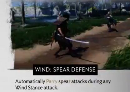 Wind: Spear Defense