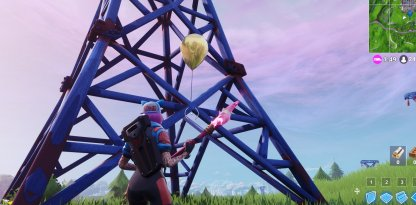 Beside Erectric Wave Tower At North Of Retail Row