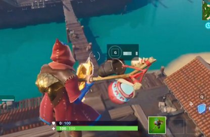 Season 8 Week 1 Secret Battle Star Location Close Up
