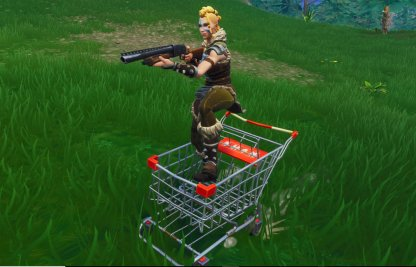 Shopping Cart Healing/Combat
