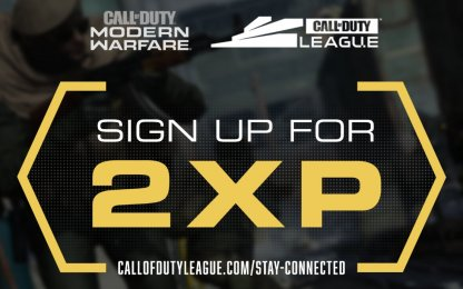 Sign Up To COD League And Get 2XP