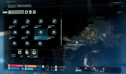 Claim Crafting Materials Stored In Facility