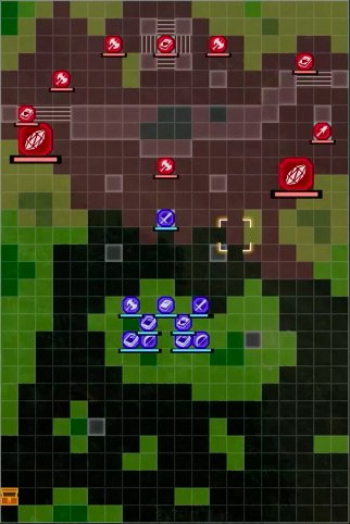 The Sealed Forest Snare Battle Map - Solon Appears