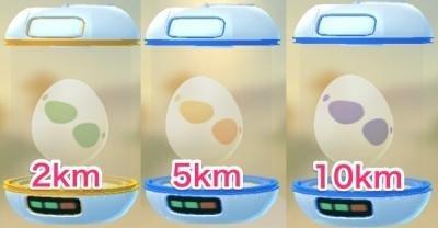 Pokemon GO Egg Hatch List Per Distance (2km, 5km, 7km, 10km)