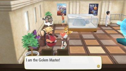 Golem Master Trainer