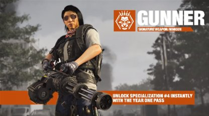 Introduces New Gunner Specialization