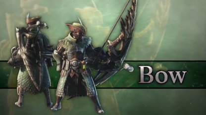 Bow Iceborne Weapon Changes