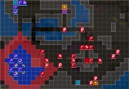 The Great Bridge Coup Map - Battle Start