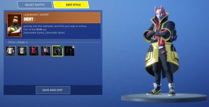 Equip Skins To Change Your Look