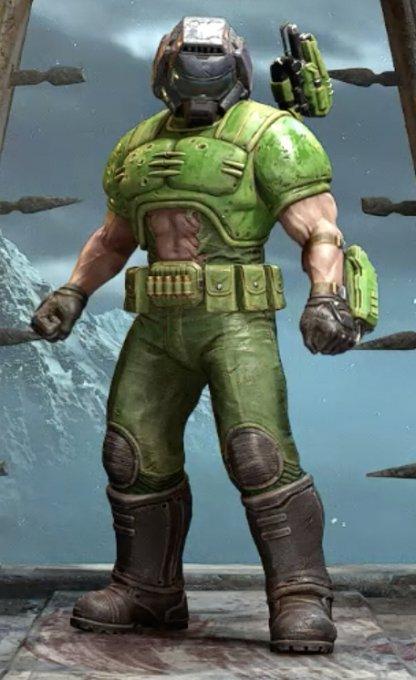 Classic Doom Marine
