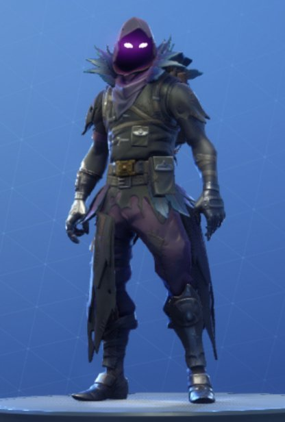 Fortnite Raven Skin Review Image Shop Price - raven front
