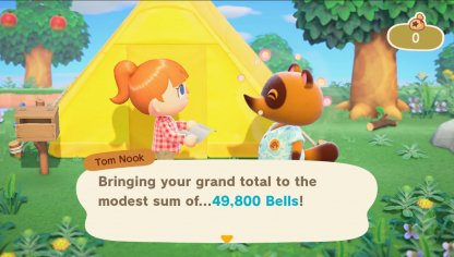 Repay Loan From Tom Nook