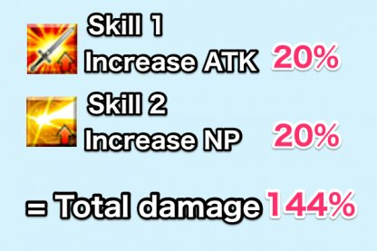 TK and NP buffs are used