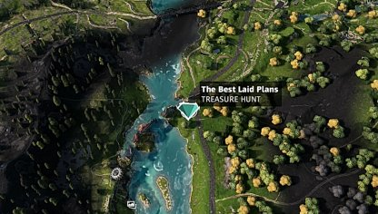 Best Laid Plans - Map Location
