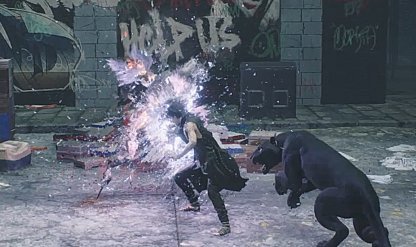Devil May Cry 5 Dying Enemies Have Purple Glow