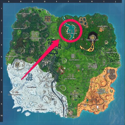 Recommended Chest Locations Lazy Lagoon Map