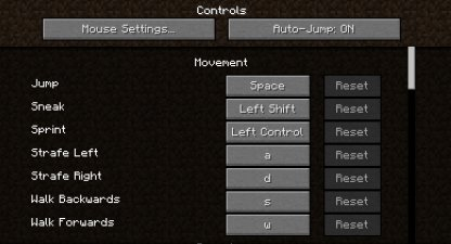 Minecraft | Control Config & Keybind For PC