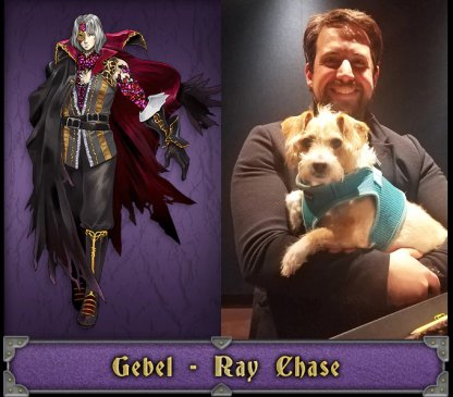 Gebel English Voice Actor - Ray Chase