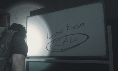 Shower Room Locker Code