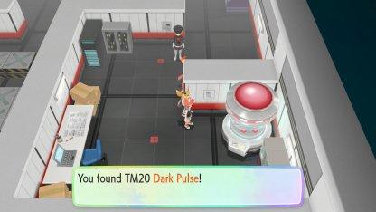 Dark Pulse Location