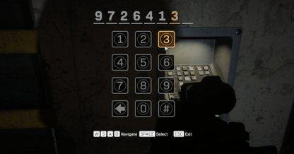 B7 Bunker Access Code