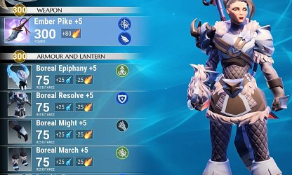 Wear Frost Armor & Use Blaze Weapons