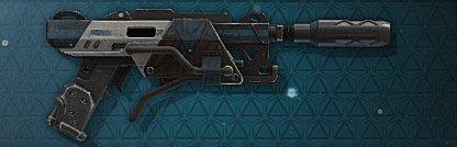 Barrage Heavy Pistol