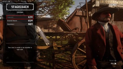 Red Dead Redemption 2 How to Fast Travel Stagecoach