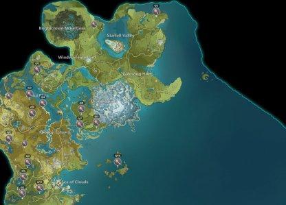 Teyvat Locations