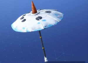 Fortnite Umbrella SNOWFALL
