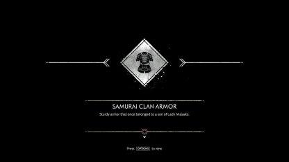 Receive New Armor Set